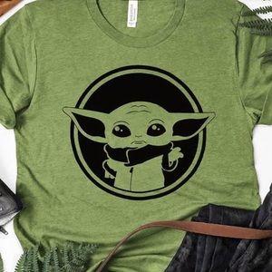 Baby Yoda Adult Tee